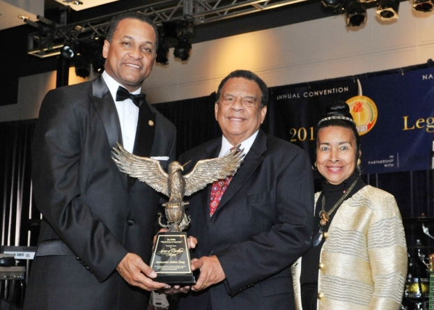 Andrew Young, Danny Bakewell Honored for 'Legacy of Excellence'