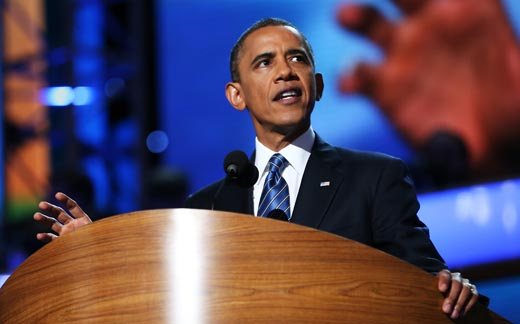 Official Transcript of President Obama's 2012 Democratic National Convention Address