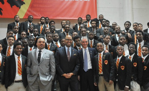 Urban Prep Seniors All Accepted to College