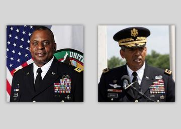 Black Generals, Rich in Legacy, Make History