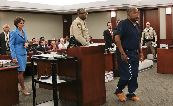 O.J. Files New Appeal in Vegas Robbery Conviction