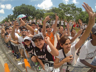 Champions on Parade: Thousands Cheer on Miami Heat Players