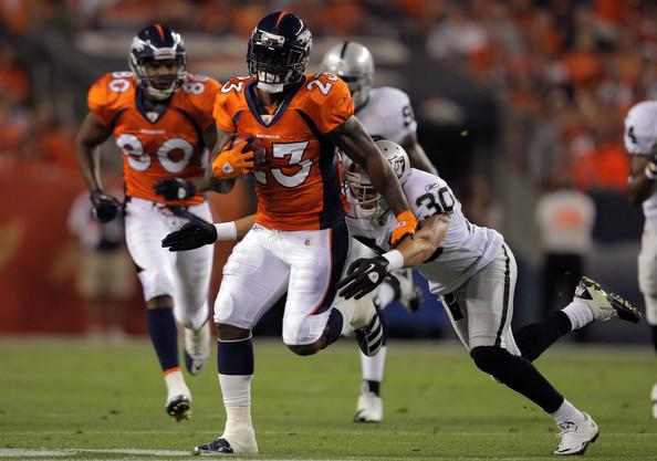 Denver Broncos Release Willis McGahee
