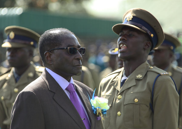 Zimbabwe's Mugabe Calls Election But His Rival Rejects The Date