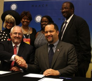 NAACP Signs Agreement with FEMA