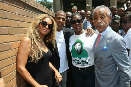 Beyonce And Jay Z Rally For Trayvon Martin