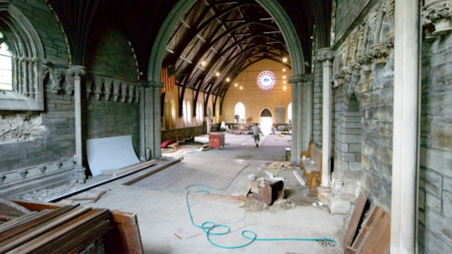 Abandoned Church Will Be Tranformed Into Vibrant School