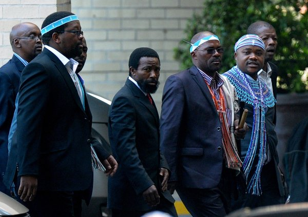 Nelson Mandela's Controversial King Takes on South Africa's President