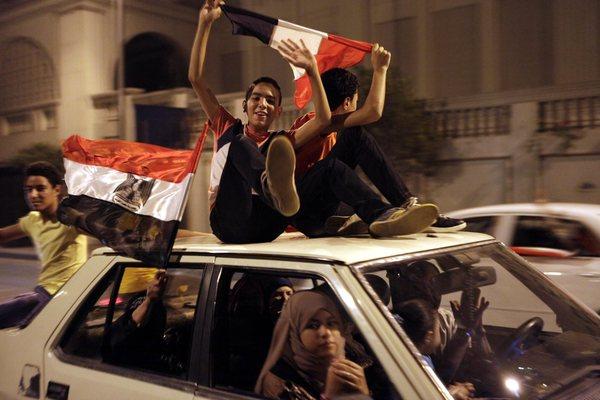 Egypt President Mohamed Morsi's Removal Sparks Celebrations