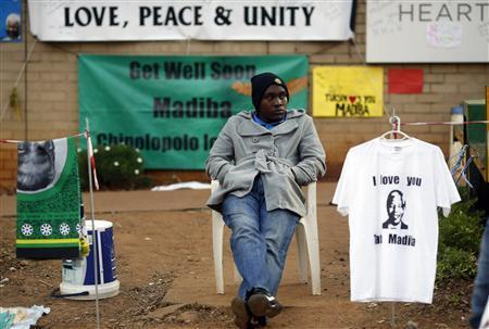 Mandela 'Responding to Treatment': South African President