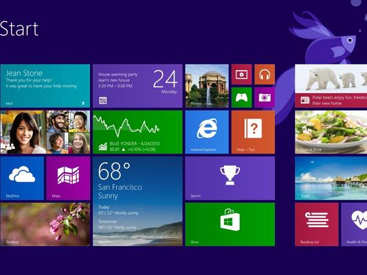 Microsoft's Windows 8.1 Update to Launch in October