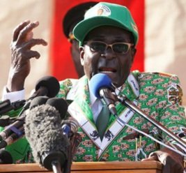 President Mugabe, Savoring Victory, Plans Takeover of Foreign Mines