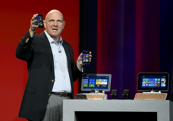 Microsoft-Nokia Deal is Ballmer's Last Stand