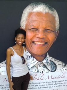 Kefilwe Molefi couldn't believe Mandela was dead (NNPA Photo by George E. Curry).