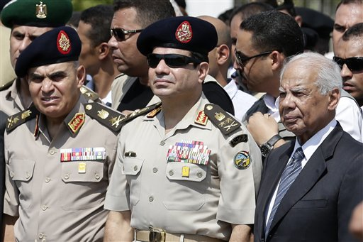 Path Cleared for Egypt's Military Chief to Run for President