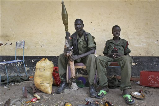 Scenes of Death in South Sudan: 'No Humanity Here'