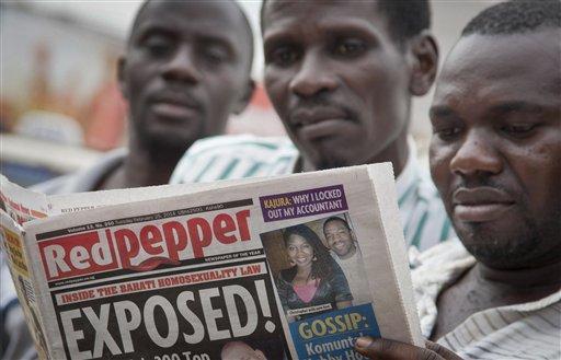 Ugandan Newspaper Prints List of '200 Top' Gays