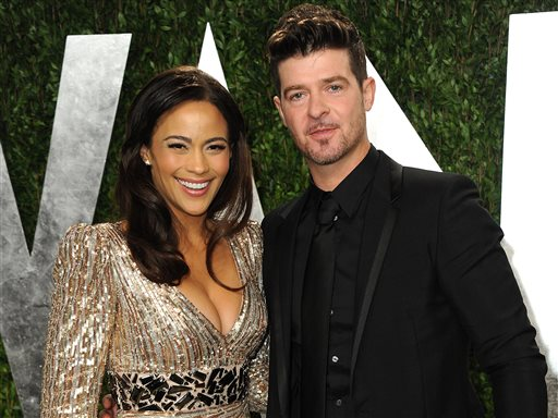 Robin Thicke, Paula Patton Ending Marriage