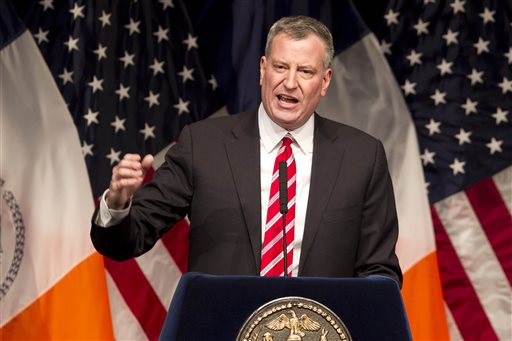 NYC Mayor Lays Out Vision to Fight Inequality