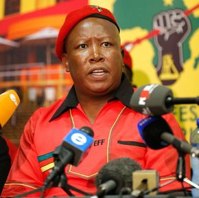 Blacks Still Poor 20 Years Later: Malema