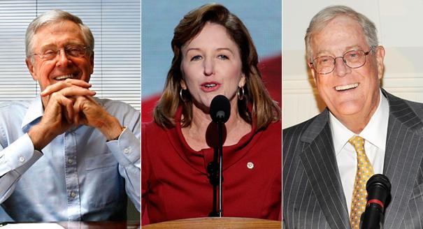 Koch Brothers Bombard Vulnerable Senate Democrat Kay Hagan