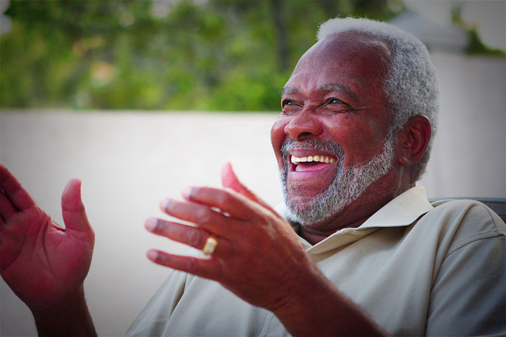 Elderly Black Man for the elderly and it can