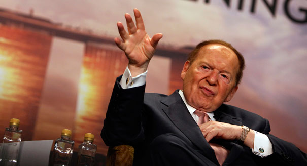 Billionaire Mogul Sheldon Adelson Looks for Mainstream Republican Who Can Win in 2016