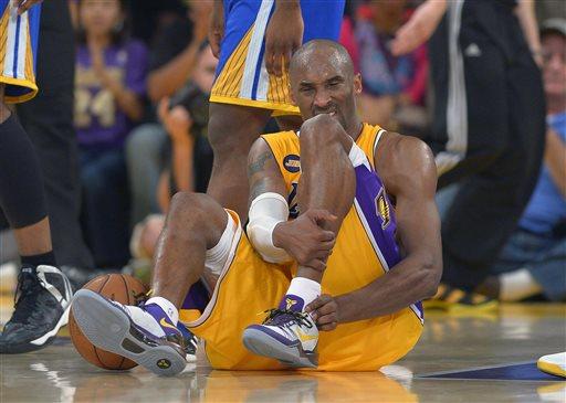 Kobe Bryant Won't Be Coming Back This Season