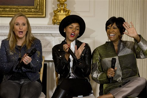 """Women of Soul"" Wow the White House, First Lady"
