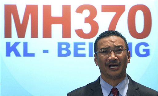 Possible Debris from Malaysia Airlines Flight 370 Spotted