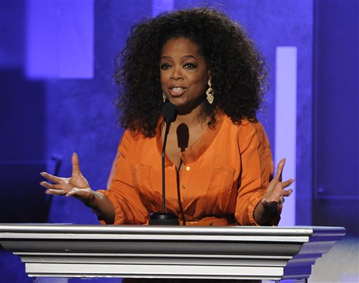 Oprah Winfrey Takes a Show on the Road