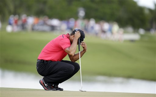 Woods Pulls Out of Bay Hill Because of Back Pain