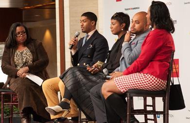 Fonzworth Bentley and Tai Beauchamp Inspired Charlotte Students During UNCF's Empower Me Tour Presented by Wells Fargo