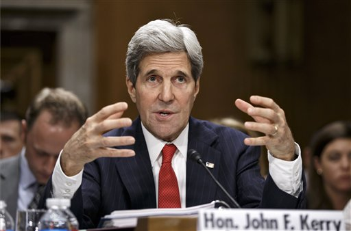 Kerry Warns Russia of Tough New Sanctions