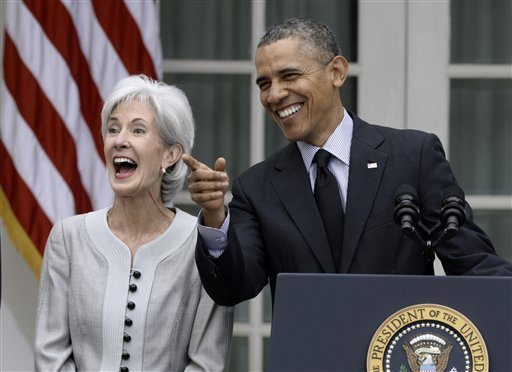 Obama Announces Sebelius Resignation, Successor