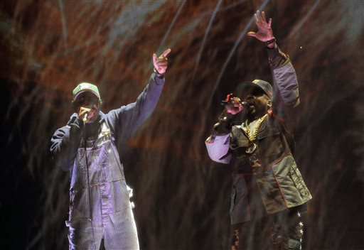 VIDEO: OutKast Reunites at Coachella for First Concert in Years