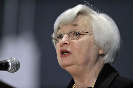 Yellen Says Federal Reserve Considering Tougher Rules for Big Banks