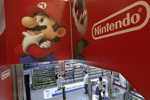 Nintendo Sinks to Loss on Lagging Wii U Sales