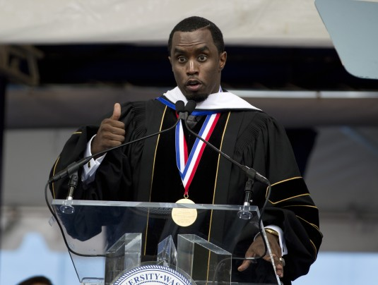 Music Mogul Sean Combs Receives Honorary Doctorate from Howard University