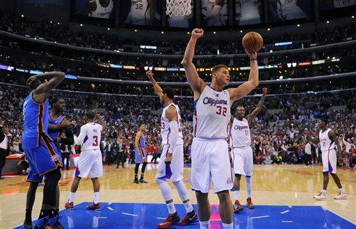 No Longer Just a Dunker, Griffin Emerges as a Playoff Star