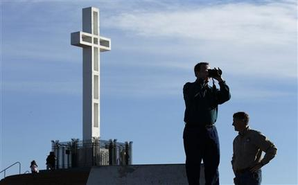 After Supreme Court's Decision on Prayers at Meetings, What About Crosses?
