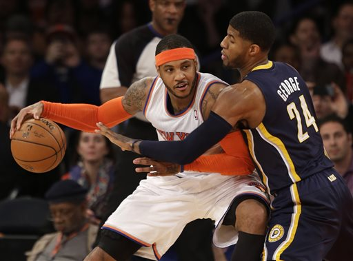 After Questioning His Commitment, Carmelo Anthony Responds to Knicks Fan on Instagram