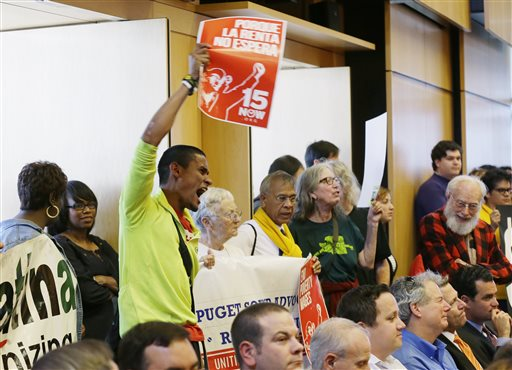 Seattle Raises Minimum Wage to $15 an Hour