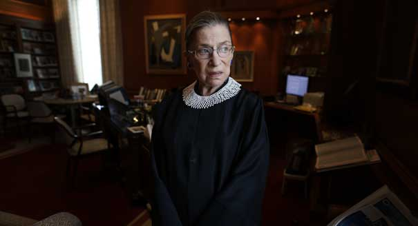 Ginsburg Expects to Remain on Supreme Court 'for a While'