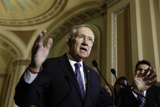 Sen. Harry Reid's Exit Sets Off Senate Leadership Scramble