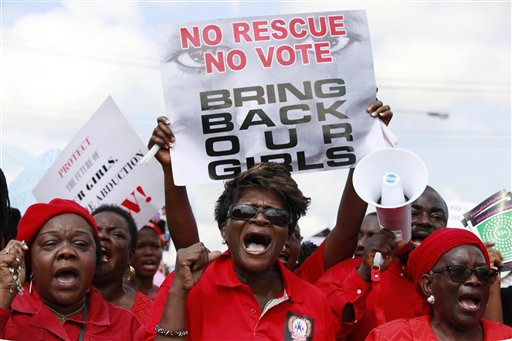 World Marks One Year Since Nigerian Girls' Abduction