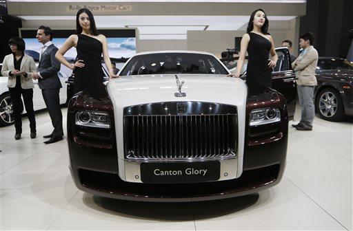 Luxury Rolls-Royce Car Sales Soar Worldwide