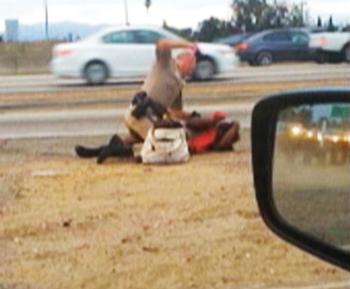 Los Angeles Gets Spotlight in Videotaped Highway Police Beating of Black Woman
