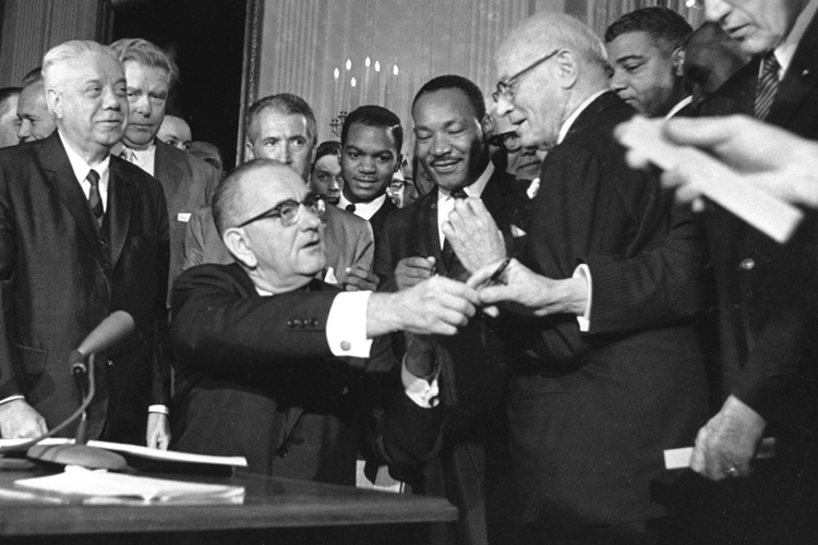civil rights act 1964 In 1964 congress passed public law 88-352 (78 stat 241), popularly known as the civil rights act of 1964 the provisions of this civil rights act forbade discrimination on the basis of sex.