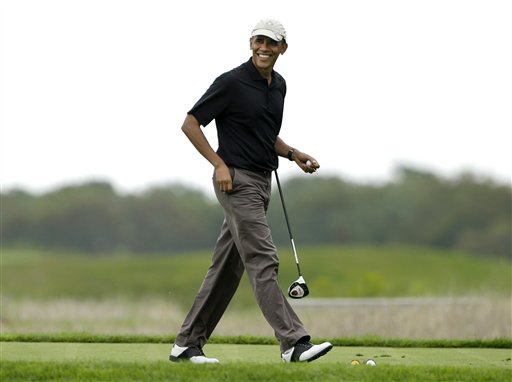 Obama Interrupting Summer Vacation with Trip to DC